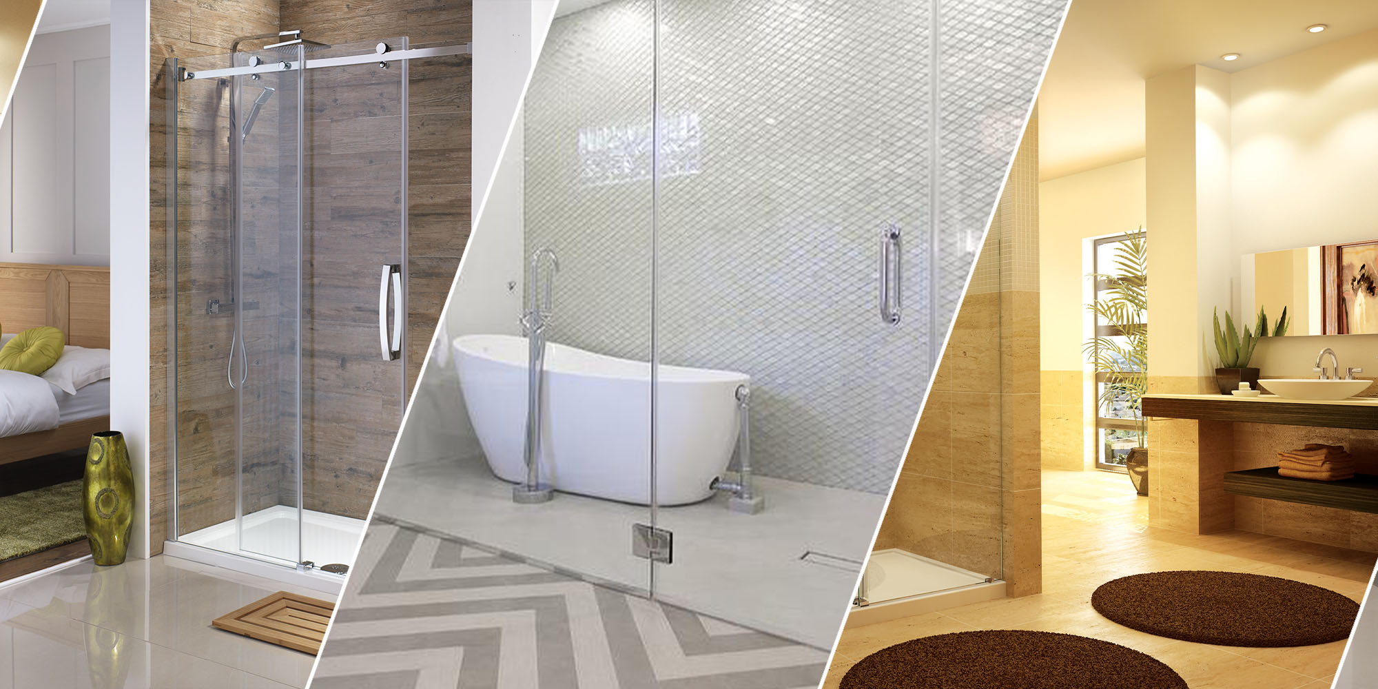 Custom Glass Shower Unit