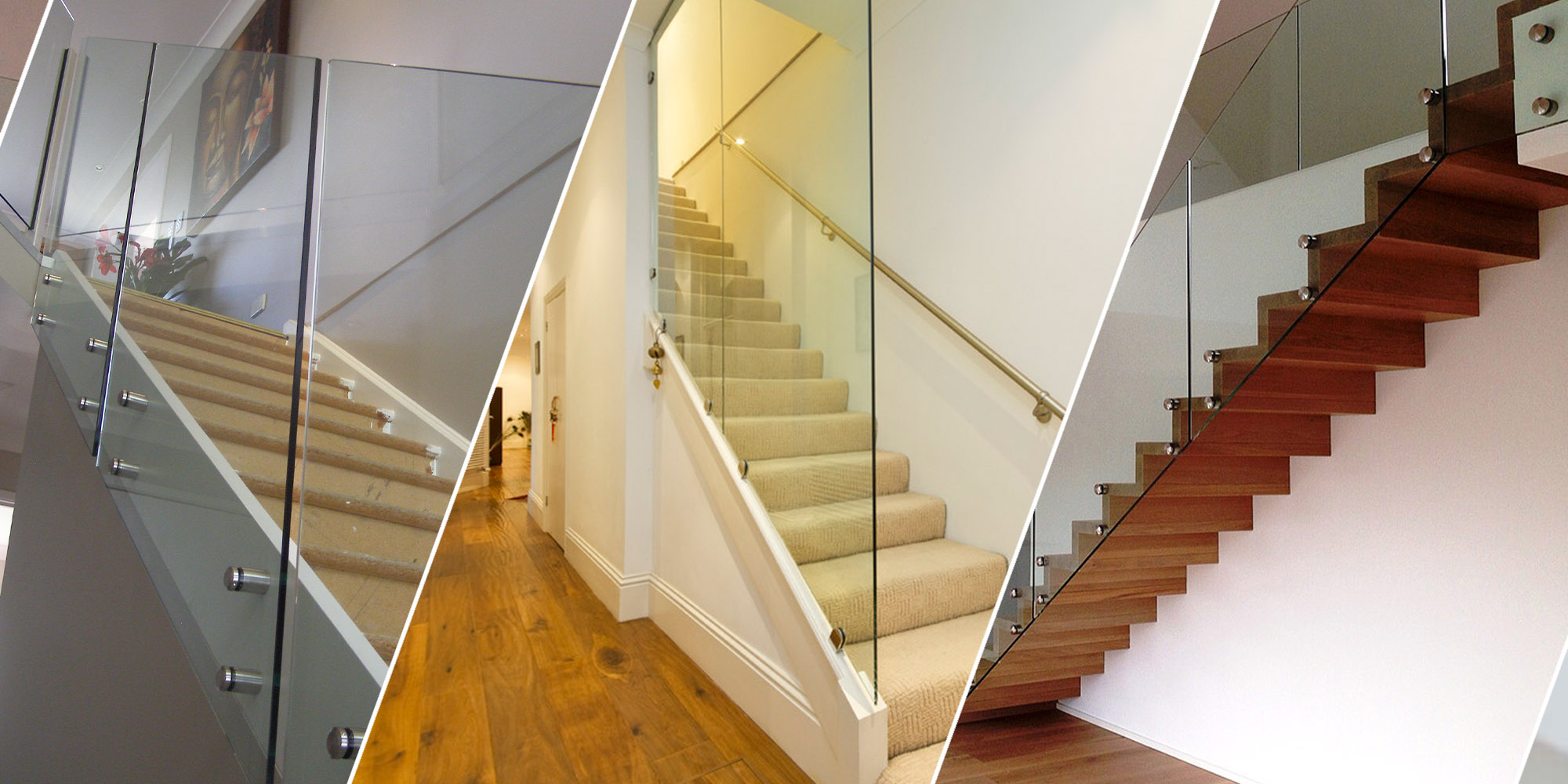 Stair Glass Balustrade Custom Size