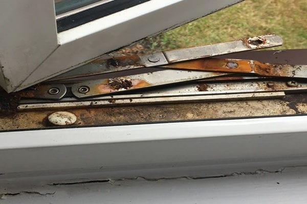 PVC Hinge Repair